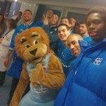 """""""Maximus"""" la mascota del @CBBreogan ha querido estar presente en uno de nuestros selfies! 😂 #ForzaBreo http://t.co/1k8LqpNWSQ"""