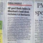 "What action @ArvindKejriwal going 2 take against AAPs  ""prashant bhushan in  land grabbing deal?  #BJPScamsBegin http://t.co/IjKc4qxeXw"