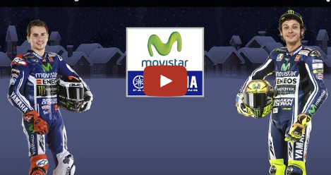 VIDEO: #MovistarYamahaMotoGP wishes you a Merry Christmas & an exciting 2015!  http://t.co/4ngCMQWm4c http://t.co/pJHyHP0oRl