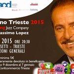 """Il 7 gennaio per il tradizionale concerto """"Buon anno #Trieste"""" della @ConfcommercioTs ci sarà Massimo Lopez! http://t.co/3EvhWeSFeR"""