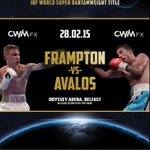 CWM Cyclone are proud to present - THE WORLD IS NOT ENOUGH - FRAMPTON V AVALOS - TICKETS ON SALE FRI DEC 19th @ 10am http://t.co/Pqaf31GARQ