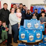 LOOK: #htafc players have been spreading Christmas cheer at our hospitals! http://t.co/w9FopFP239 #bbcwyorks http://t.co/EvwS0sD769
