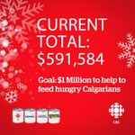 Help us reach our goal of $1M, stop by our lobby at 1724 Westmount Blvd. NW to donate and watch live broadcasts #yyc http://t.co/fG9U8USFoa
