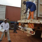 PHOTO: If he misses it :-) ?? #AFRIAID #SouthSudan http://t.co/woYw9jOLxQ