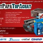 Concours #PetitPapaTopAchat   Cest parti pour le #lot17 à 1458 € !  Pour participer, RT + Follow @TopAchat :-) http://t.co/Fbtkg8RMwm