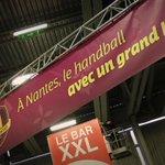 A #Nantes on sait recevoir... Salle XXL, bar XXL, match XXL ! @HBCNantes @LNHofficiel @psghand http://t.co/7T2QIOFJmw