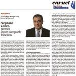 Stéphane Cohen, 1er expert-comptable francilien @OECParis @LesEchos #Portrait #expertcomptable http://t.co/UqiVEqGKuP http://t.co/eMQRIGLhP0