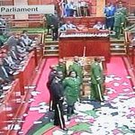Chaos disrupt Parliament special sitting on security bill http://t.co/OipJ6USpUs http://t.co/HV97VygZ6a