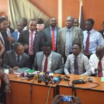 Media briefing by Cord MPs underway in parliament http://t.co/Wwsnw0aO5E