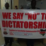 #Tumechoka #SecurityBill Say NO to DICTATORSHIP @KPTJ_Kenya @WanjikuRevolt @SIDKDP @UKenyatta @PoliceKE @BoniMtetezi http://t.co/GDQJPAt73l