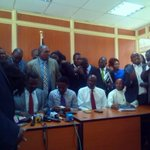 CORD MPs issue statement after disruption of deliberation on the #SecurityBill in the National Assembly http://t.co/iCKoadepMQ