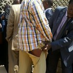 Senator Muthama after being ruffled in parliament http://t.co/B4ScjrC4cg