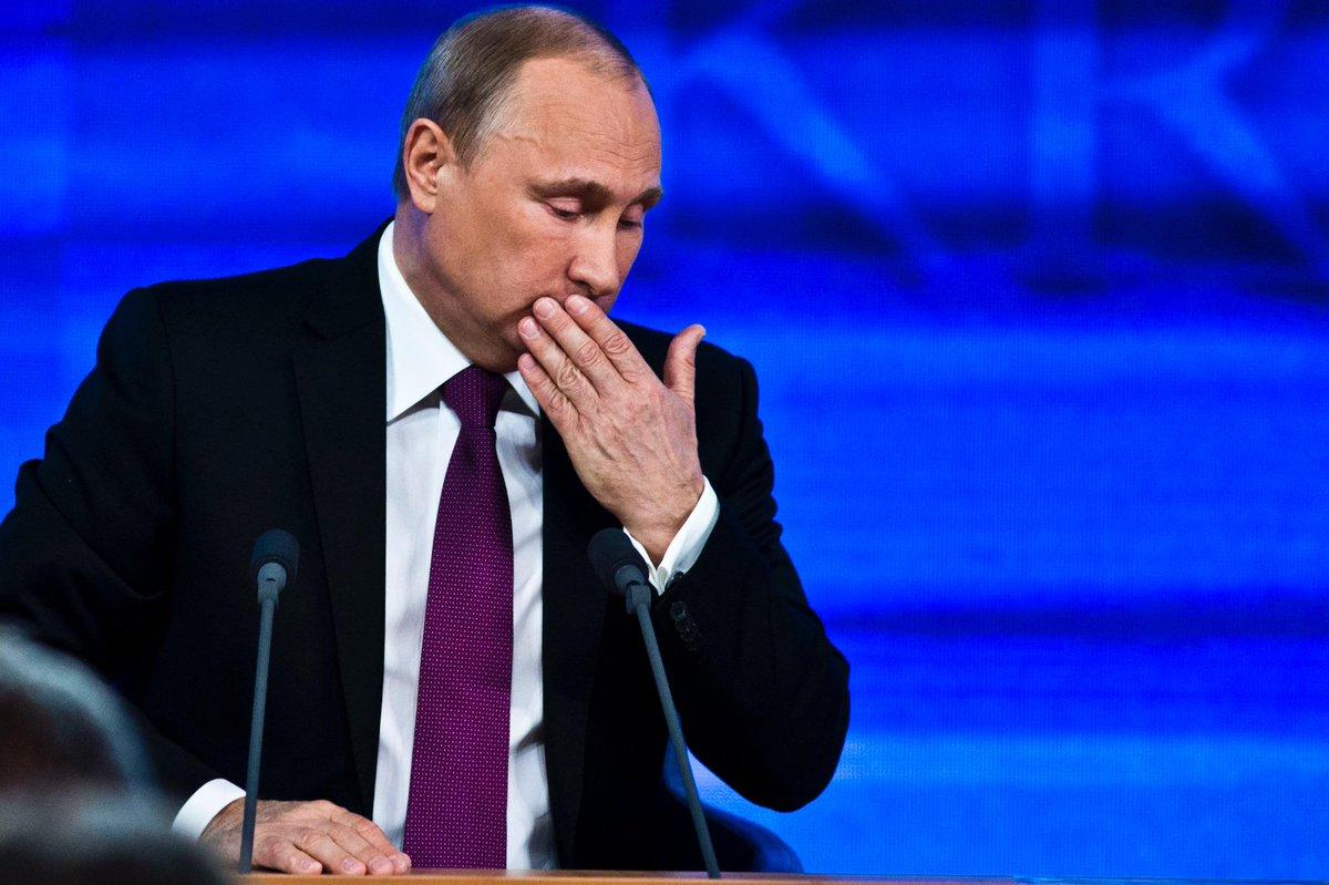 Почему кашлял путин на пресс-конференции