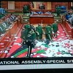 A chaotic National Assembly erupts into fist fights as opposition MPs attempt to prevent passage of security laws. http://t.co/g1G8Mzmo5a