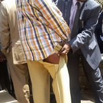 This Senator #Muthama torn suit. #OccupyParliament #SecurityLawsDeadlock via @richybosire http://t.co/hOuPwOPx7I