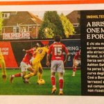 READ: Our friend @eastendshedman has made it into the Italian press! #BristolCity http://t.co/nOVt1TaCYp