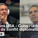 #États-Unis - #Cuba : un tournant historique Revoir le #DébatF24 1ère partie >>> http://t.co/rbGpL2vyrM @durpaire http://t.co/KfOXIEyPQh