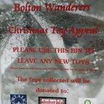 RT @MiddlebrookAng: @MiddlebrookRLP @OfficialBWFC Toy Appeal collection @SmythsToysUK @RMCHcharity @winstonswish http://t.co/PofY3mPmh4