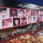 A tribute to little angels of Peshawar from ARY Digital Network at shaheed Benazir Bhutto Park KHI. http://t.co/xZ90vsBI0R