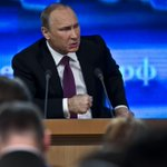 """Putin: """"We are not attacking anyone."""" http://t.co/4jGFIzSkfb"""