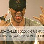 O @ppdegalicia dálle 350.000 € a Enrique Iglesias (@enrique305) mentres a música galega non ve un can! http://t.co/oVzONnhNYG