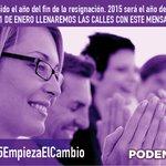 Yo estaré en la manifestación del 31 de enero porque en #2015EmpiezaElCambio. ¿Y tú? http://t.co/lzgDMhUYLM http://t.co/0RAmaUY8vK