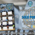 Mañana en el partido contra @DLinkZaragoza a la venta el calendario 2015 del @UruguayFS al precio de 3euros!!! http://t.co/okm3SM3c9d