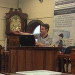 Junior auctioneer & eldest son Tom Winterton took to the rostrum to sell today. Welldone Tom! #auctioneer#Lichfield http://t.co/9kLHu6e84z