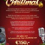 ACTIE: Op zoek naar een uniek cadeau voor de kerst? Neem nu jouw eigen (kerst)single op! Bekijk flyer voor meer info. http://t.co/5QmKCtJHBY