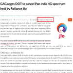What action taken on this #CAG report by Modi Govt? ZERO! Bcoz @rsprasad is on Reliance payroll #BJPScamsBegin http://t.co/uO655BI5PK