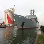 St Nazaire: les marins russes formés au #Mistral quittent la France #AFP http://t.co/6QXW2XJXTZ
