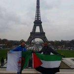 من باريس ... الجزائر دائما مع فلسطين ظالمة او مظلومة #Paris #France . #Palestine #Algerie #KenzaMorsli #كنزة_مرسلي http://t.co/dd8d13I7IV