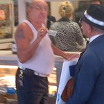 """Sparks flying now outside Cafe Versailles over new #Cuba policy: """"communist!"""" """"dictatorship!"""" #Miami @NBC6 http://t.co/lMY0lkQ7ki"""