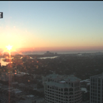 Gorgeous #Sunrise from our #FtLauderdale camera Email your weather photos to:pics@cbsmiami.com @CBSMiami @MiamiHerald http://t.co/YHTKAeamM5