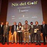 La Nit del Golf va premiar ahir al @HesperiaTower als campions de la temporada 2014!! Felicitats a tots! http://t.co/oxpk5QM9xb