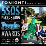 playing the #PEOPLEMagazineAwards tonight ! you can watch it on @nbc from 9pm ET/PT if you want. #5SOSonPMAs http://t.co/HslVGWSoN4
