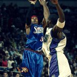 10 years ago today, @alleniverson of the @Sixers posted 54 pts in a win over the Bucks #TheAnswer #NBATBT #TBT http://t.co/64hlpFF2ag