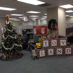 Who should win this years #Christmas decorating contest? #BlueChristmas #CandyLand #ToyLand #WinterWonderland http://t.co/ucPVQXVDBK