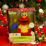 How cute is this red guy? Can't wait to see Milo's face when he opens his @hasbro Let's Imagine Elmo! #love http://t.co/MZRBWdmIvg