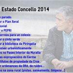 Debatiend estado dl Ayuntamiento d Lugo y gestión Orozco y PSOE. Esta se resume en PARALIZADO y SIN IDEAS #DEMLugo14 http://t.co/VGZ550ELrG