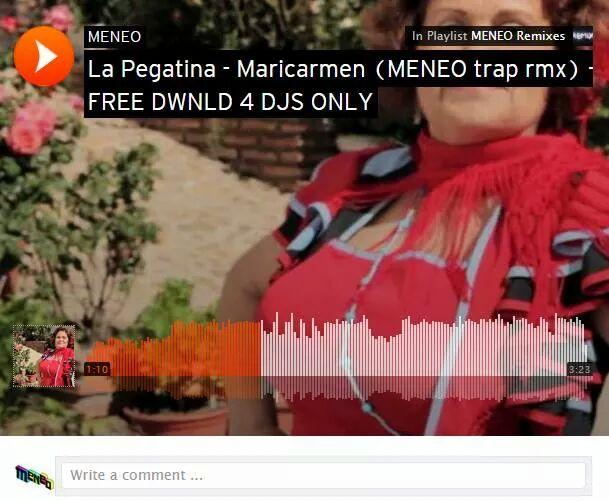 Hoy en @SalaMetropolis va a debutar uno de los remixes q mas he disfrutado haciendo: @lapegatina en versión trap!! http://t.co/jr5go8MYXT