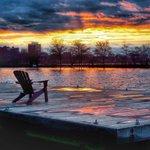 Sunset last night. #esplanade #boston @universalhub @EsplanadeAssn http://t.co/VVwRq9zrSJ