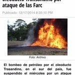 Esta es la alborada de las Farc, con ella anuncian el inicio del cese unilateral al fuego. http://t.co/BzK3kmVD1r
