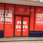 The first signs are starting to appear on the new site of Cardiff @FiveGuysUK in the Brewery Quarter.  #coming2015 http://t.co/KHMlr6RU55