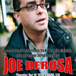 TONIGHT! @joederosacomedy (Comedy Central, Louie, @midnight) at @TheThirstyHippo in Hattiesburg, MS! 8PM $10 http://t.co/RQFsxsdmrW