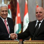 PM Al-Abadi discusses wide-ranging bilateral cooperation with Jordanian delegation led by PM Abdullah Ensour http://t.co/VllzkG4BQy