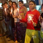 Children of my apartment in Guwahati gathered today after school to pay tribute to their friends killed in #Pakistan. http://t.co/aDFuV6uTkB