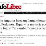 """Anguita hace un llamamiento a IU, Podemos, Equo para lograr """"el cambio"""" #2015EmpiezaElCambio http://t.co/FSqSdz4rG5 http://t.co/5Yltr8nrKG"""