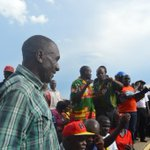 Andrew Banda son of Former President Rupiah Banda at UPND rally in Kafue. Tune in for the live #outsidebroadcast http://t.co/rE4uarW17M