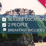 RT & Follow to #WIN a seaside hotel stay: http://t.co/P93J6TTDUx #FreeStayFriday #Competition. Winner @ 4 http://t.co/Zv0GibmdwD